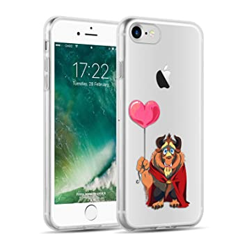 coque iphone 8 la belle et la bete